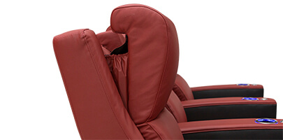 Seatcraft Diamante Home Theater Seats Powered Headrests