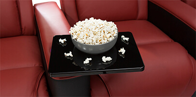 Seatcraft Maxim Home Theater Seats Tray Tables