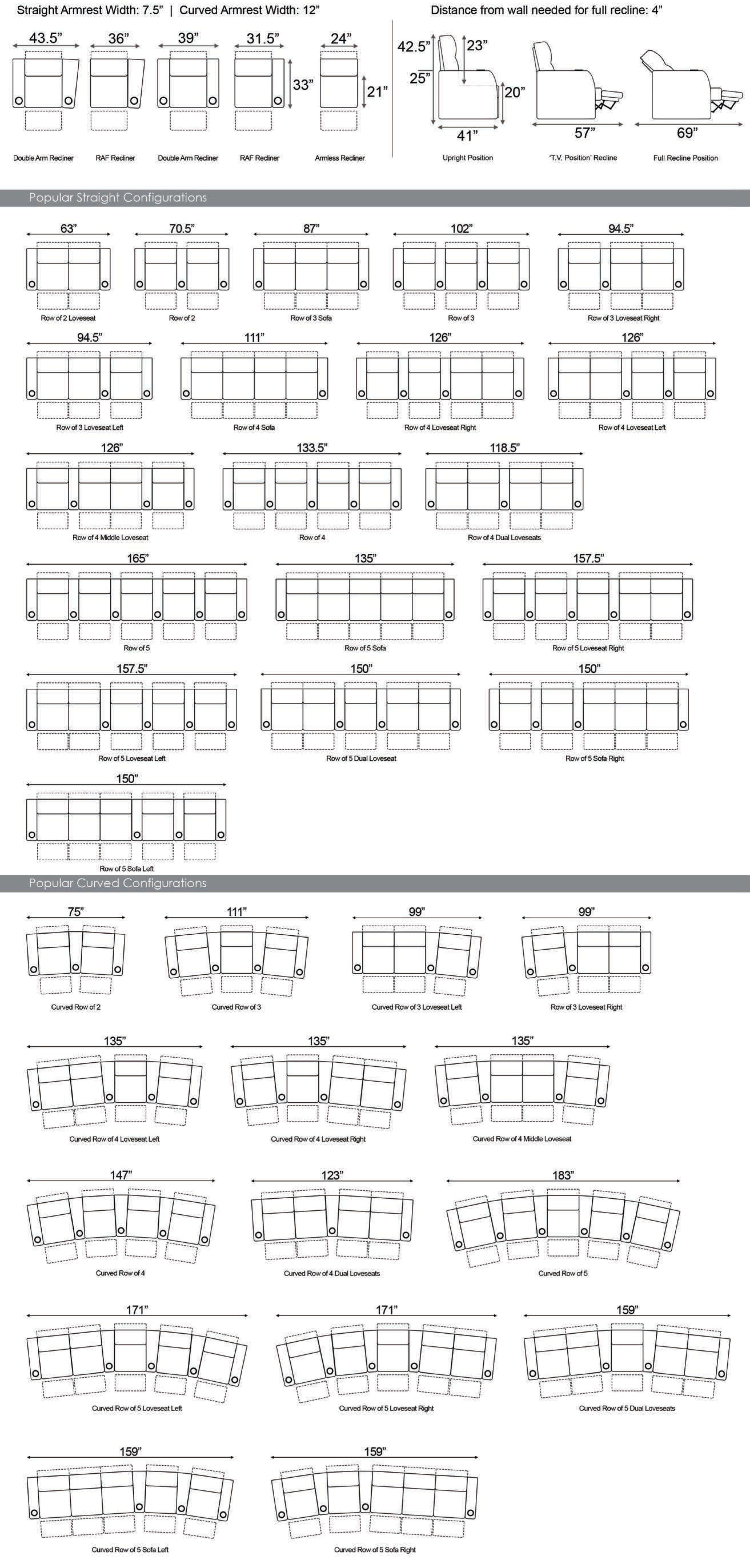 Seatcraft Monaco Dimensions