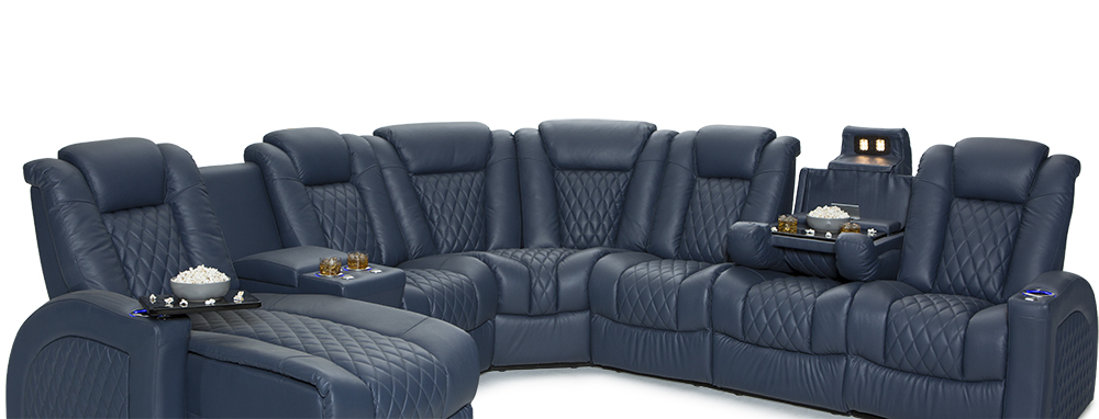 Seatcraft Cadence Multimedia Sectional