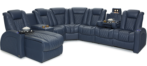 Seatcraft Cadence Media Room Sectional
