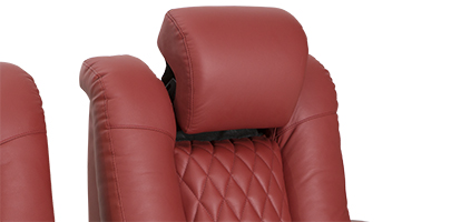 Seatcraft Diamante with Chaise and Power Adjustable Headrest