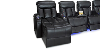 Seatcraft Grenada Theater Seats Power Chaiseloungers