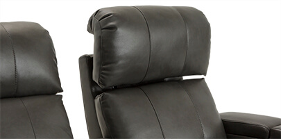 Seatcraft Sonoma Home Theater Seating Power Headrests
