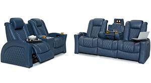 Seatcraft Cadence Multimedia Sofa and Loveseat