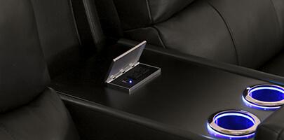 Seatcraft Madison Multimedia Sofa Power USB Charging Station