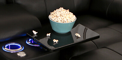 Seatcraft Madison Home Theater Furniture Tray Tables