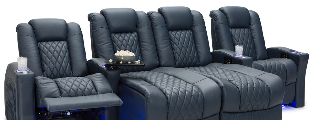 Seatcraft Your Choice Stanza Home Theater Chaiseloungers