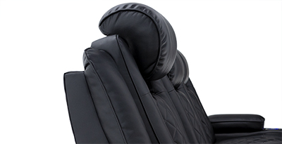 Seatcraft Europa Theater Furniture Powered Headrests