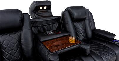Seatcraft Europa Theater Furniture Fold-Down Table