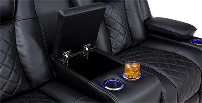 Seatcraft Europa Theater Furniture Storage Console