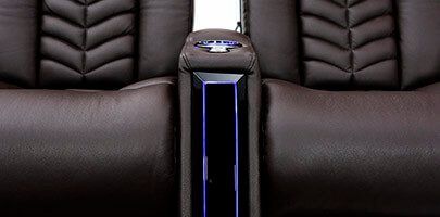 Seatcraft Veloce Etched LED Lighted Arms