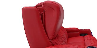 Seatcraft Marathon Home Theater Sofa Powered Headrests