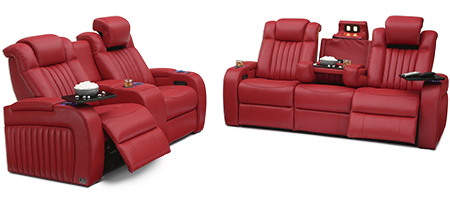 Seatcraft Spire Multimedia Sofa and Loveseat