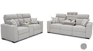 Seatcraft Capital Living Room Sofa and Loveseat