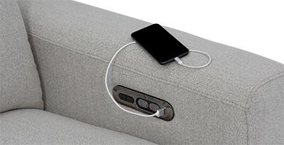 Capital Living Room Furniture USB Charging port