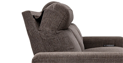 Seatcraft Hawke Living Room Furniture Adjustable Headrests for Neck pain