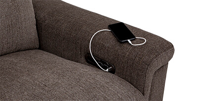 Capital Living Room Furniture USB Charging port