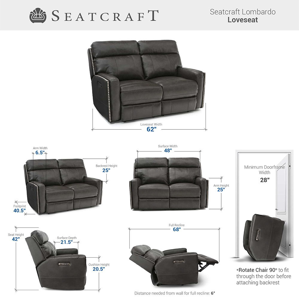 Seatcraft Lombardo Home Theater Seating