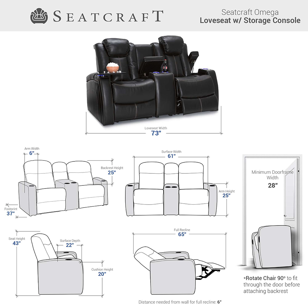 Seatcraft Omega Home furniture Seating