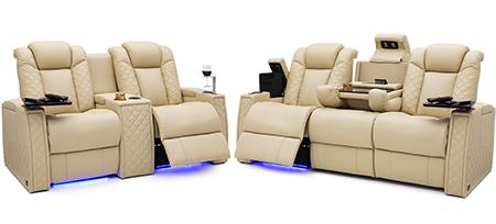 Seatcraft Palladius Multimedia Sofa and Loveseat