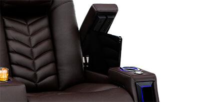 Seatcraft Veloce Hidden In-Arm Storage