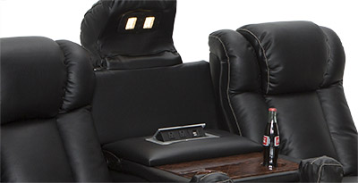 Seatcraft Sigma Home Theater Seating USB Charging Station