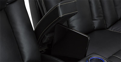 Seatcraft Sigma Hidden In-Arm Storage