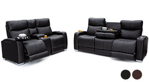 Seatcraft Tiberius Living Room Sofa and Loveseat