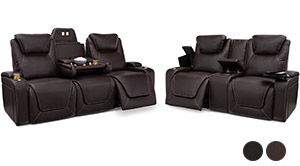 Seatcraft Colosseum Home Theater Sofa and Loveseat