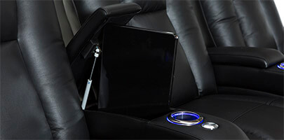 Seatcraft Serenity Theater Seating In-Arm Storage