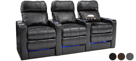 Seatcraft Monterey Back Row Home Theater Seats