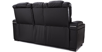 Seatcraft Bastion Home Theater Sofa Finished Backrests
