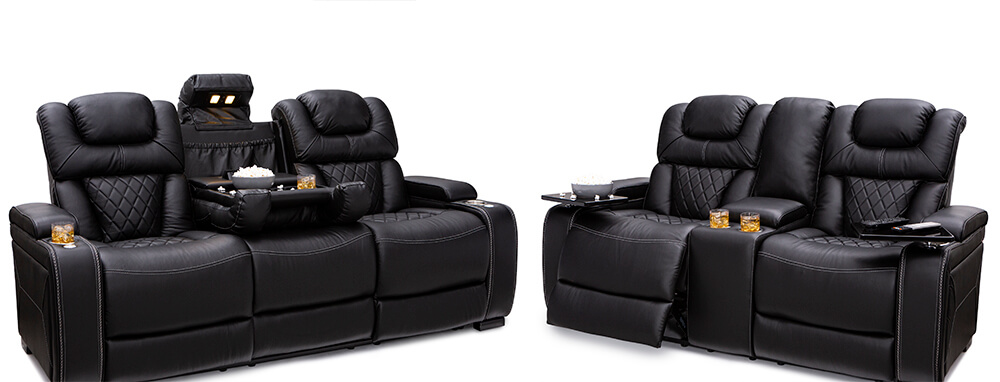 Seatcraft Bastion Home Theater Sofa & Loveseat