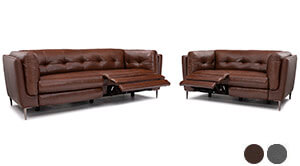 Seatcraft Altadena Accent Sofa and Loveseat
